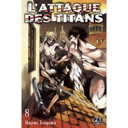 L ATTAQUE DES TITANS T08 - Manga au prix de 6,95€