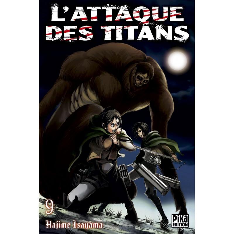 L ATTAQUE DES TITANS T09 - Manga au prix de 6,95€