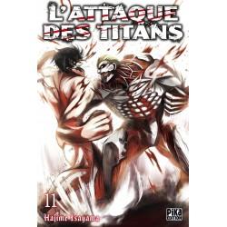 L ATTAQUE DES TITANS T11 - Manga au prix de 6,95€