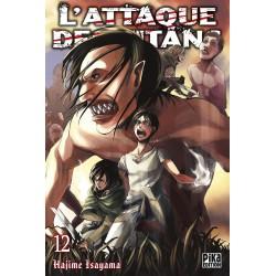 L ATTAQUE DES TITANS T12 - Manga au prix de 6,95€