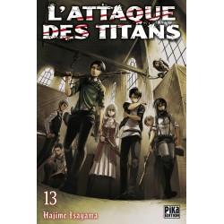 L ATTAQUE DES TITANS T13 - Manga au prix de 6,95€