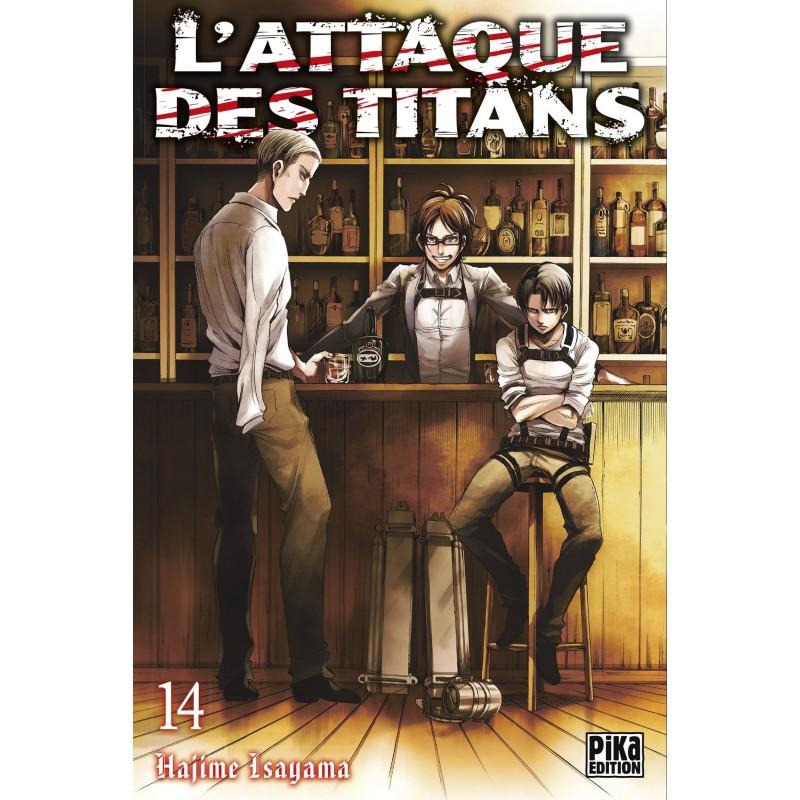L ATTAQUE DES TITANS T14 - Manga au prix de 6,95€