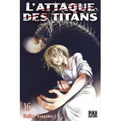 L ATTAQUE DES TITANS T16 - Manga au prix de 6,95€