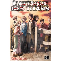 L ATTAQUE DES TITANS T17 - Manga au prix de 6,95€