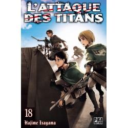 L ATTAQUE DES TITANS T18 - Manga au prix de 6,95€