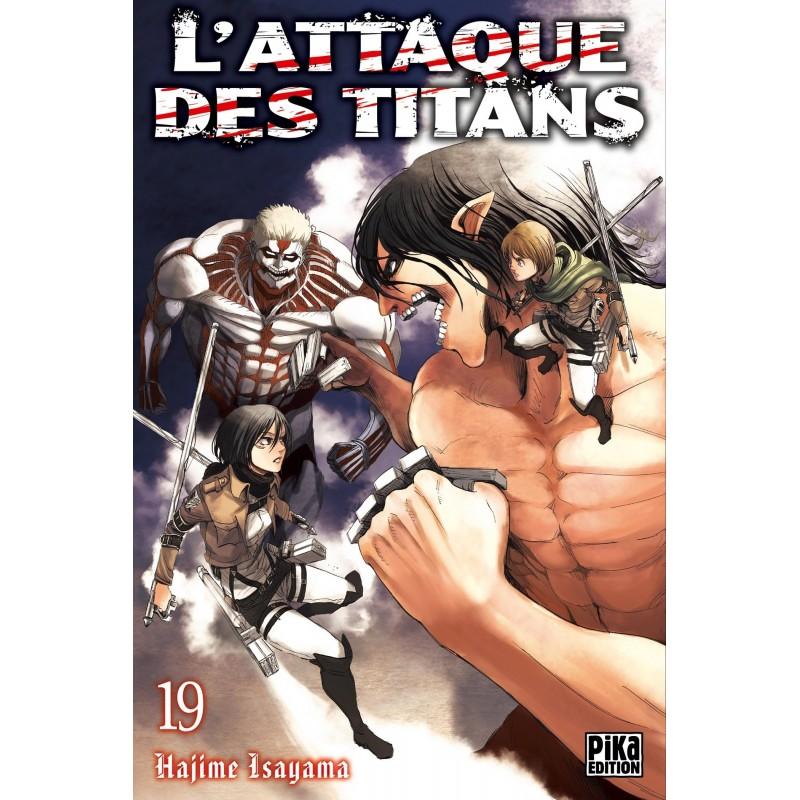 L ATTAQUE DES TITANS T19 - Manga au prix de 6,95€