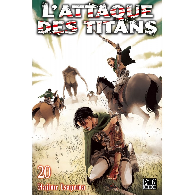 L ATTAQUE DES TITANS T20 - Manga au prix de 6,95€
