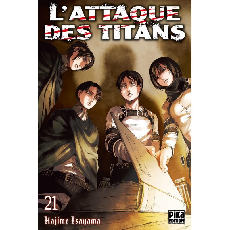 L ATTAQUE DES TITANS T21 - Manga au prix de 6,95€