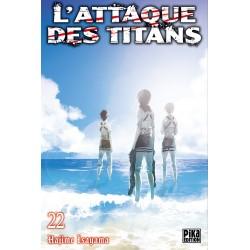 L ATTAQUE DES TITANS T22 - Manga au prix de 6,95€