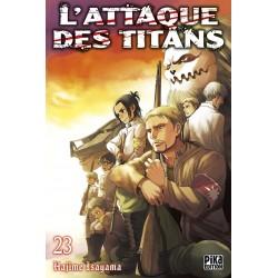 L ATTAQUE DES TITANS T23 - Manga au prix de 6,95€