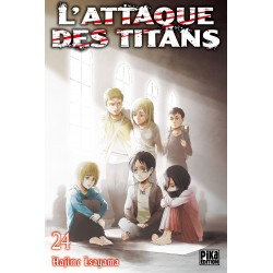 L ATTAQUE DES TITANS T24 - Manga au prix de 6,95€