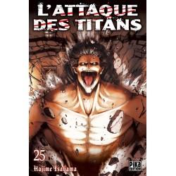 L ATTAQUE DES TITANS T25 - Manga au prix de 6,95€