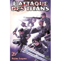 L ATTAQUE DES TITANS T26 - Manga au prix de 6,95€