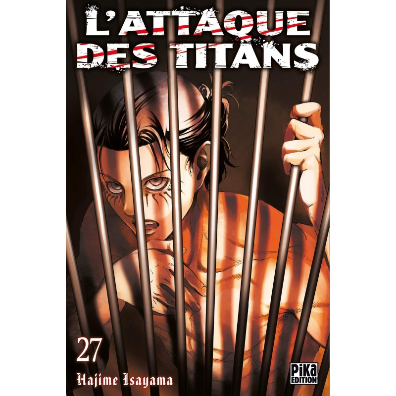 L ATTAQUE DES TITANS T27 - Manga au prix de 6,95€