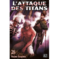 L ATTAQUE DES TITANS T28 - Manga au prix de 6,95€