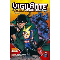 MY HERO ACADEMIA VIGILANTE T01 - Manga au prix de 6,90€