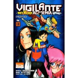 MY HERO ACADEMIA VIGILANTE T03 - Manga au prix de 6,90€