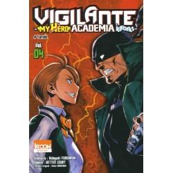 MY HERO ACADEMIA VIGILANTE T04 - Manga au prix de 6,90€