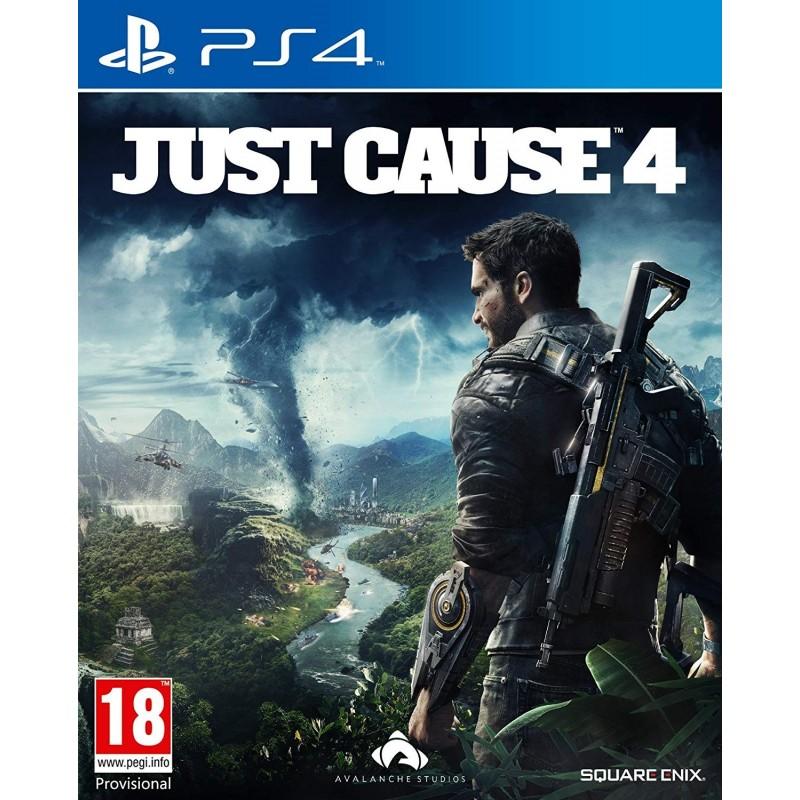 PS4 JUST CAUSE 4 OCC - Jeux PS4 au prix de 14,95€
