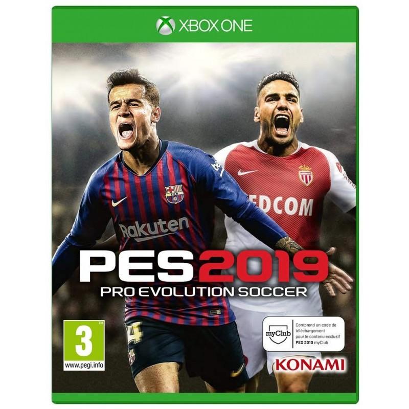 XONE PES 2019 OCC - Jeux Xbox One au prix de 9,95€