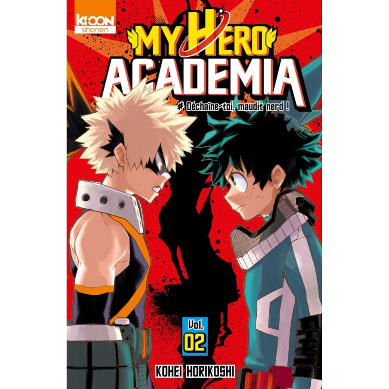 MY HERO ACADEMIA T02 - Manga au prix de 6,60€