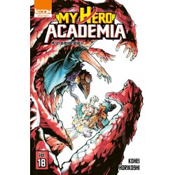 MY HERO ACADEMIA T18 - Manga au prix de 6,60€