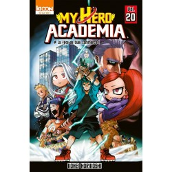 MY HERO ACADEMIA T20 - Manga au prix de 6,60€