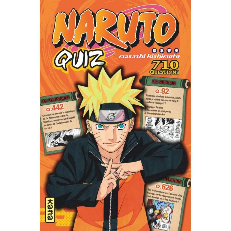 NARUTO QUIZ - Manga au prix de 8,50€