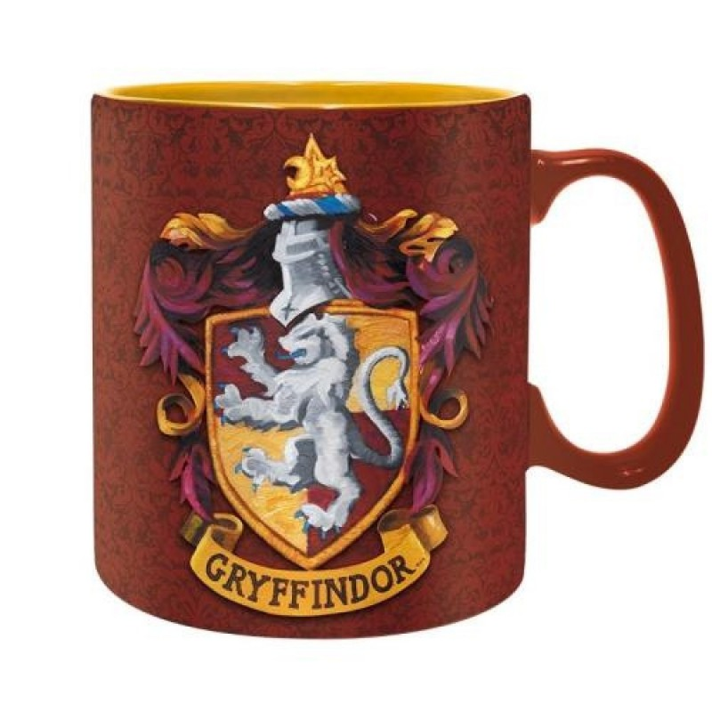 MUG HARRY POTTER GRYFFINDOR 460ML - Mugs au prix de 12,95€