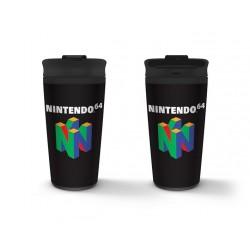 TRAVEL MUG NINTENDO N64 450ML - Mugs au prix de 14,95€