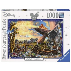 PUZZLE LE ROI LION COLLECTOR EDITION 1000 PIECES - Puzzles au prix de 14,95 €