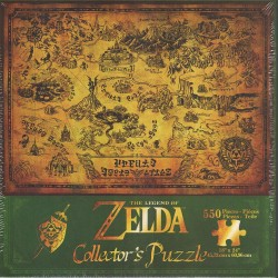 PUZZLE LEGEND OF ZELDA HYRULE MAP 550 PIECES - Puzzles au prix de 14,95 €
