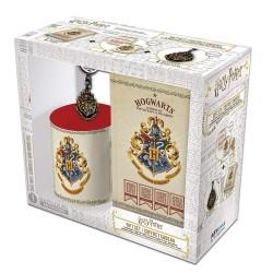 COFFRET CADEAU HARRY POTTER MUG PORTE CLES ET NOTEBOOK POUDLARD - Autres Goodies au prix de 19,95€