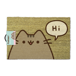 PAILLASSON PUSHEEN SAYS HI 40X60CM - Autres Goodies au prix de 24,95 €