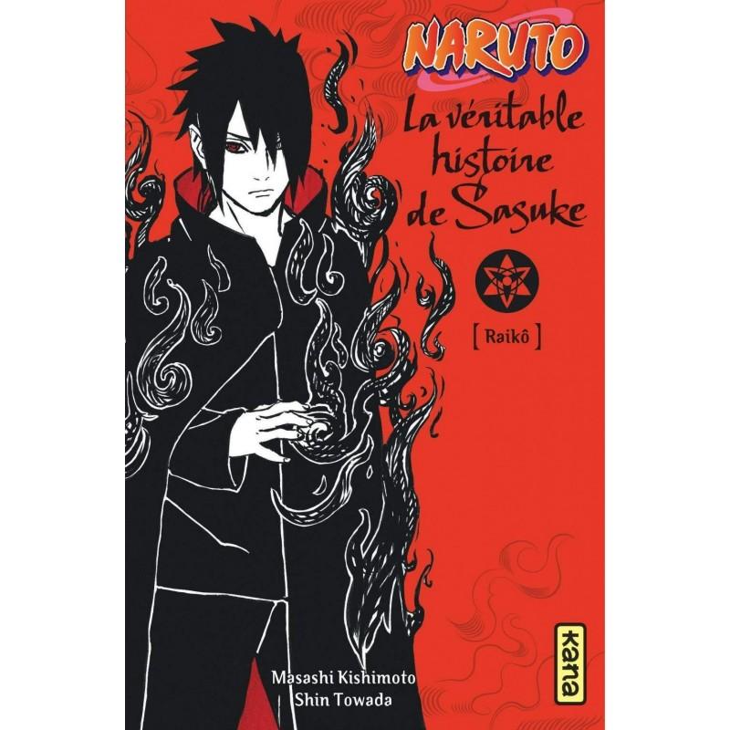 NARUTO ROMAN T09 LA VERITABLE HISTOIRE DE SASUKE - Manga au prix de 8,75€