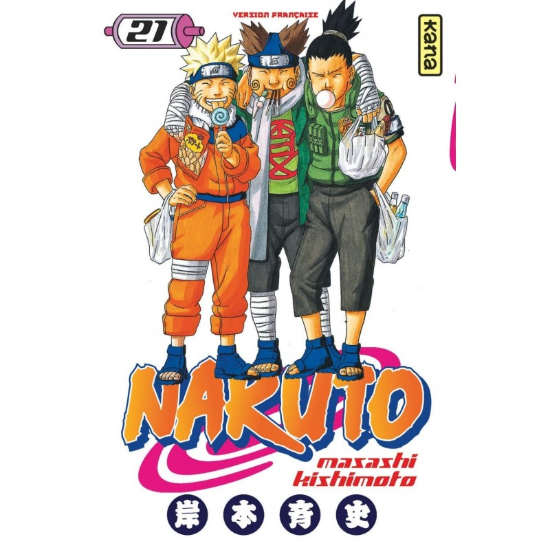 NARUTO T21 - Manga au prix de 6,85€