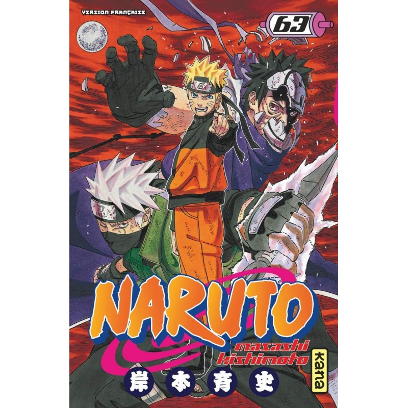NARUTO T63 - Manga au prix de 6,85€