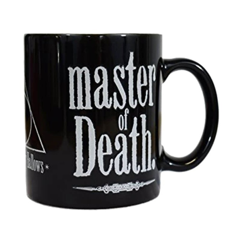 MUG HARRY POTTER HEATCHANGE DEATHLY HALLOWS 325 ML - Mugs au prix de 9,95€