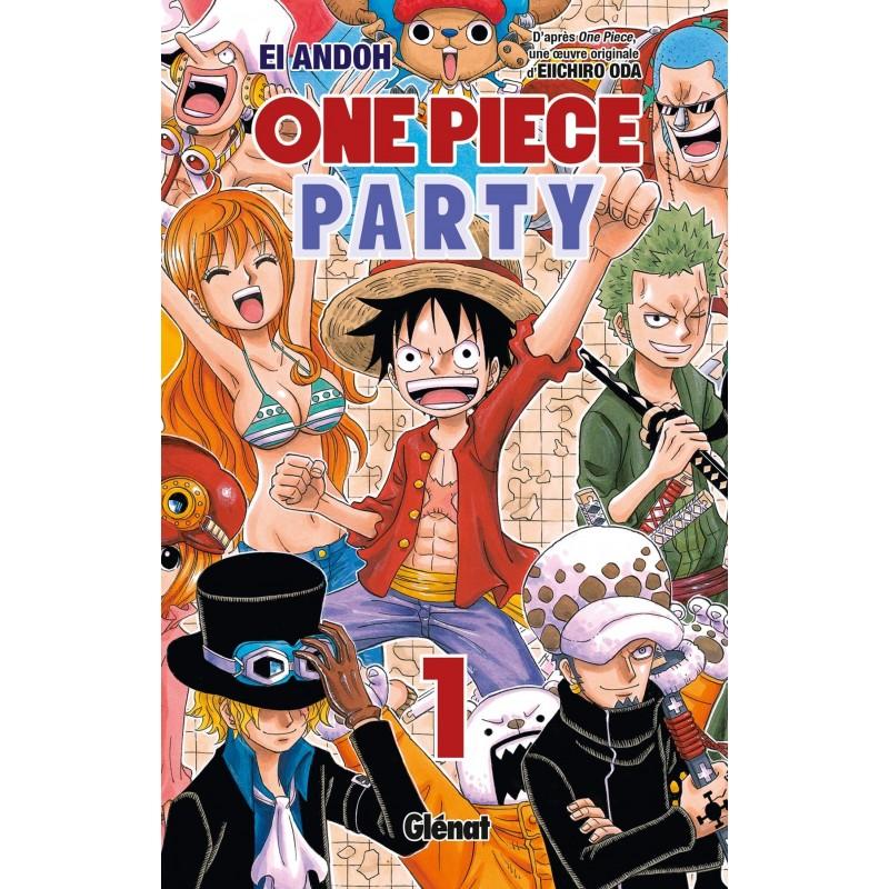 ONE PIECE PARTY T01 - Manga au prix de 6,90€
