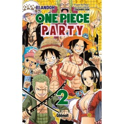 ONE PIECE PARTY T02 - Manga au prix de 6,90 €
