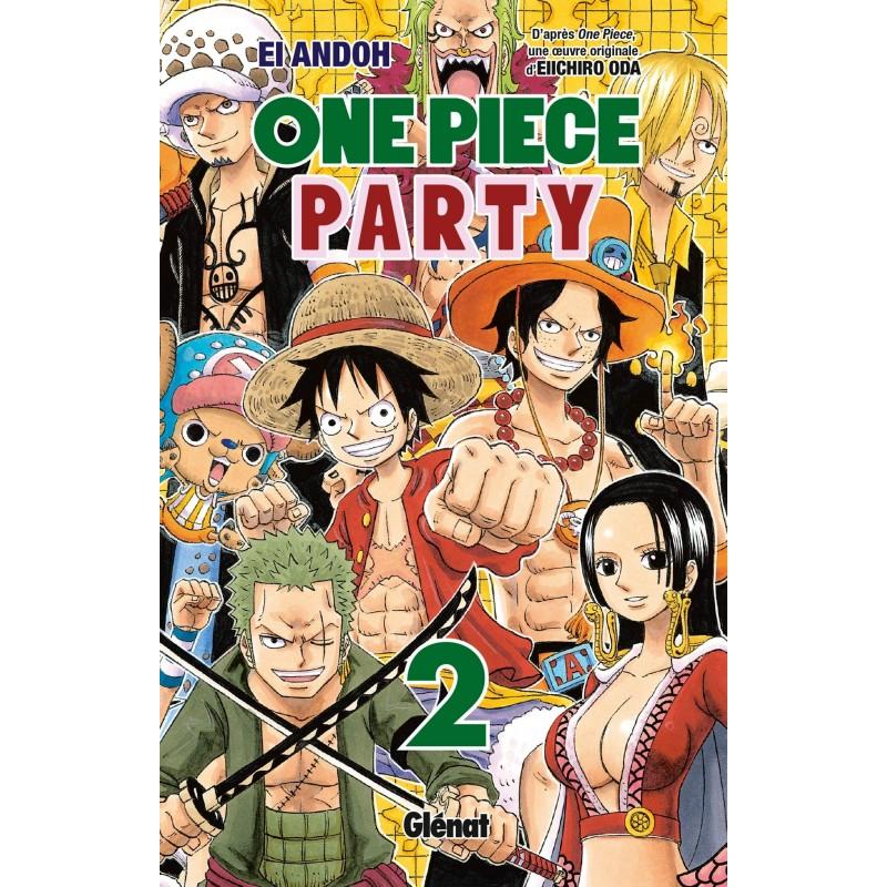 ONE PIECE PARTY T02 - Manga au prix de 6,90€