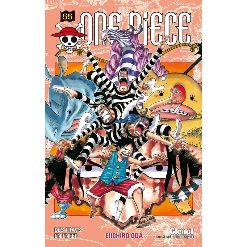 ONE PIECE T55 - Manga au prix de 6,90€