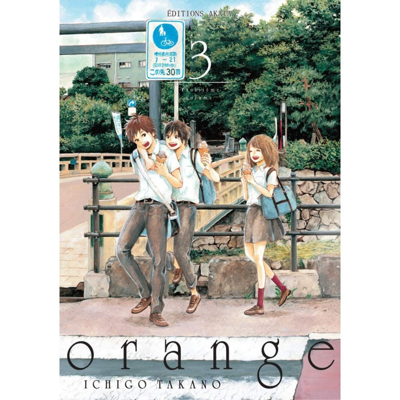 ORANGE T03 - Manga au prix de 7,95€