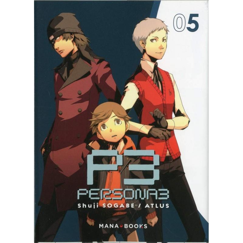 PERSONA 3 T05 - Manga au prix de 7,90€