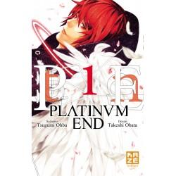 PLATINUM END T01 - Manga au prix de 7,15€