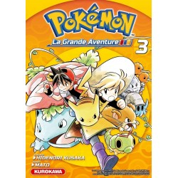 POKEMON LA GRANDE AVENTURE T03 - Manga au prix de 10,00€