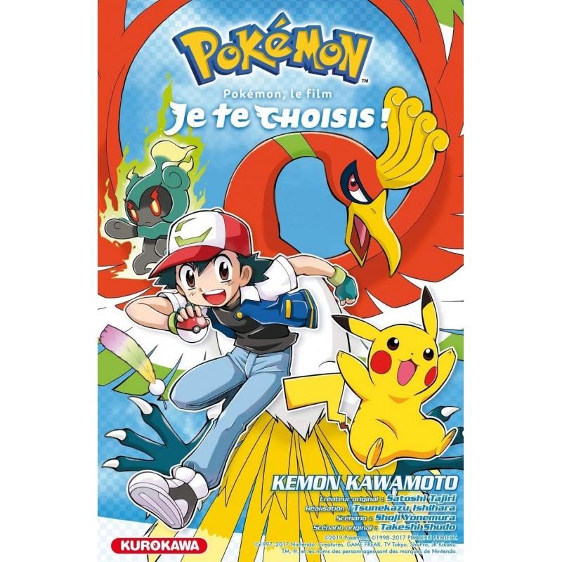 POKEMON LE FILM JE TE CHOISIS - Manga au prix de 6,80€