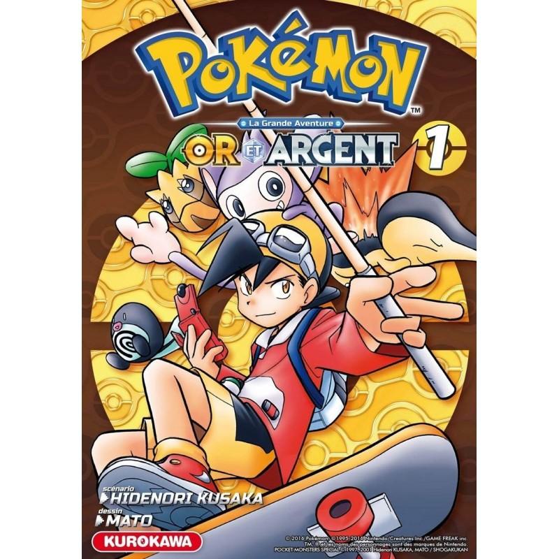 POKEMON OR ARGENT T01 - Manga au prix de 10,00€