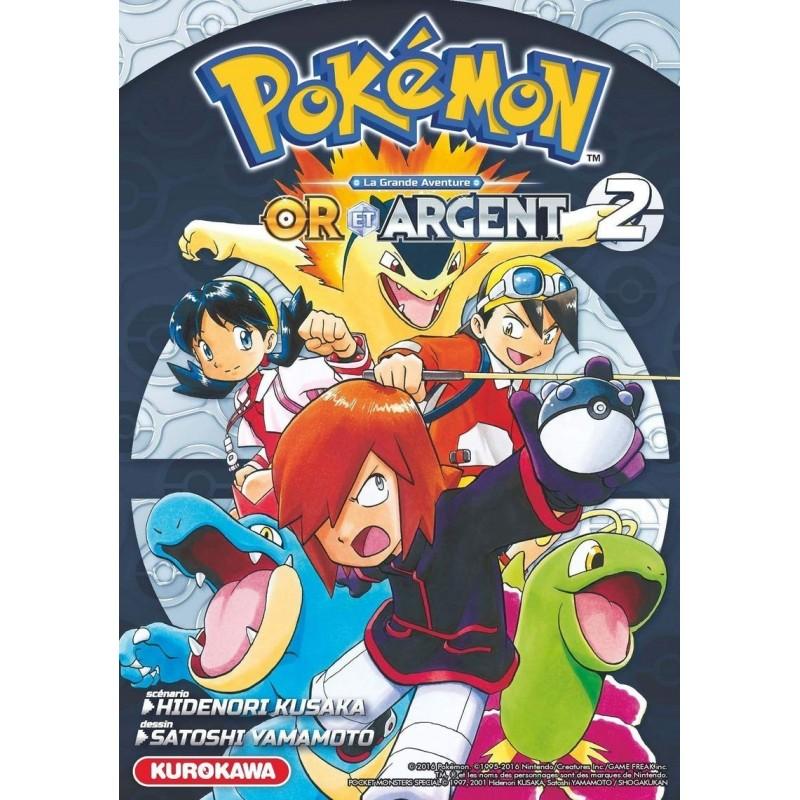 POKEMON OR ARGENT T02 - Manga au prix de 10,00€