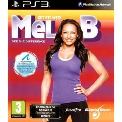 PS3 GET FIT WITH MEL B - Jeux PS3 au prix de 3,95€